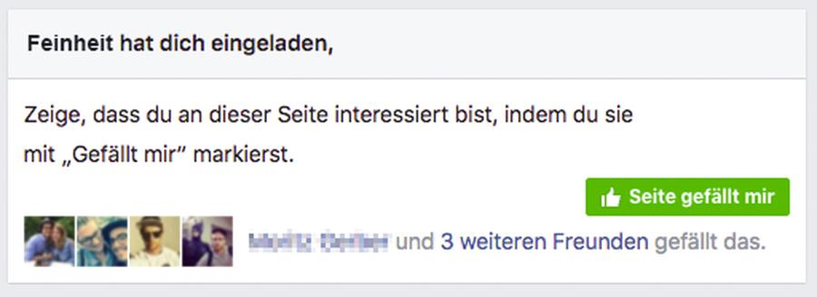 Facebook profilbild nicht liken bar machen
